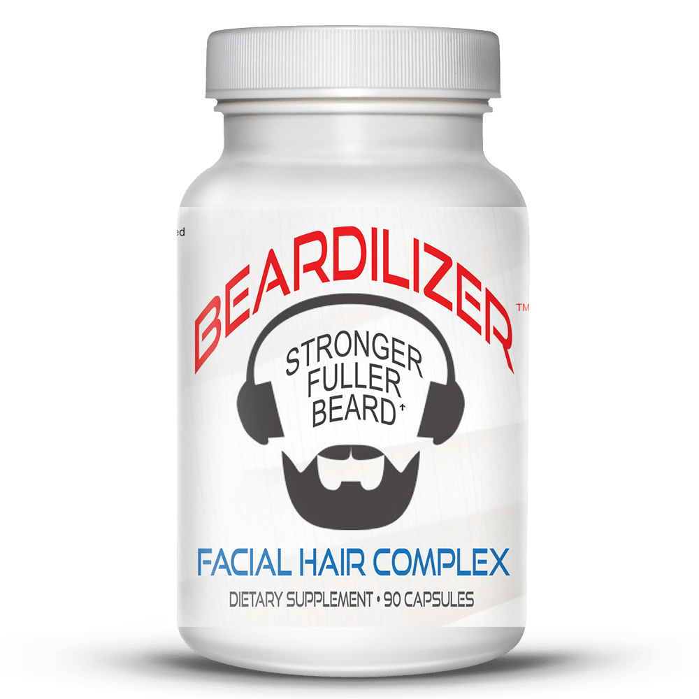 beard growth vitamins