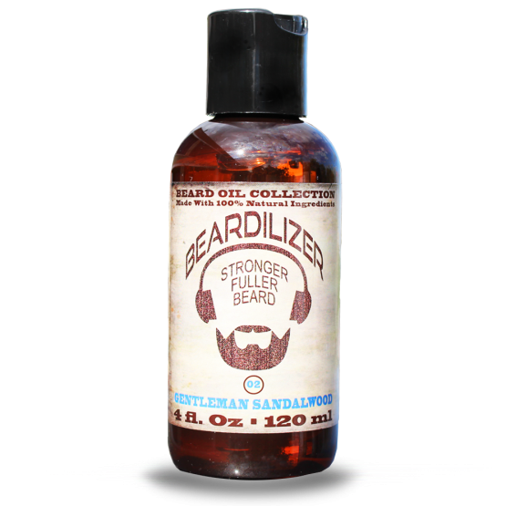 gentleman sandalwood beard oil