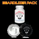 Beard supplement and beard cream value pack