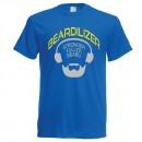 royal blue beardilizer t-shirt