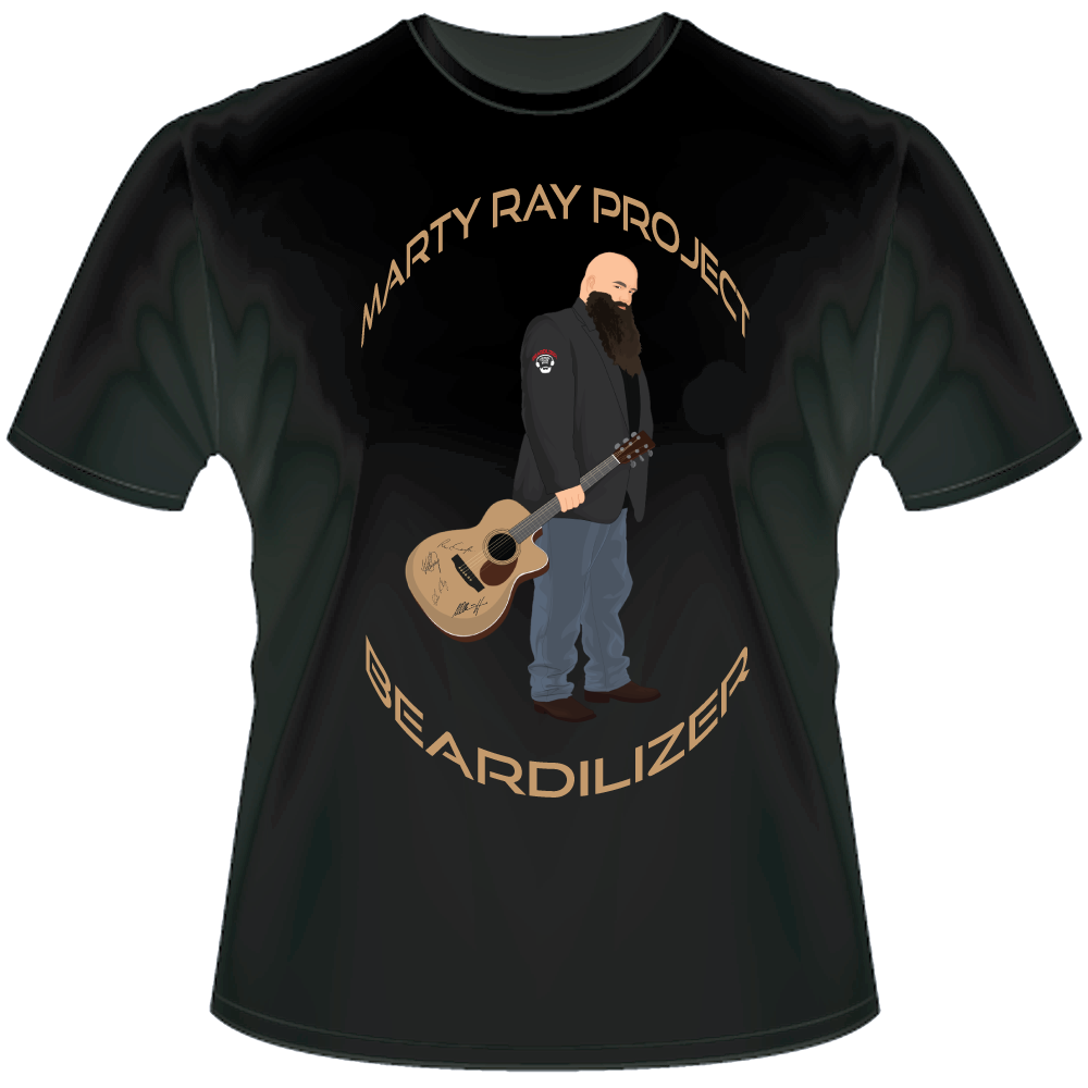 Black Marty Ray Project T-shirt